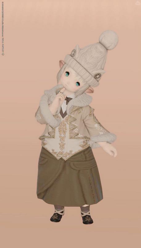 甘めクポクポジャケットコーデ