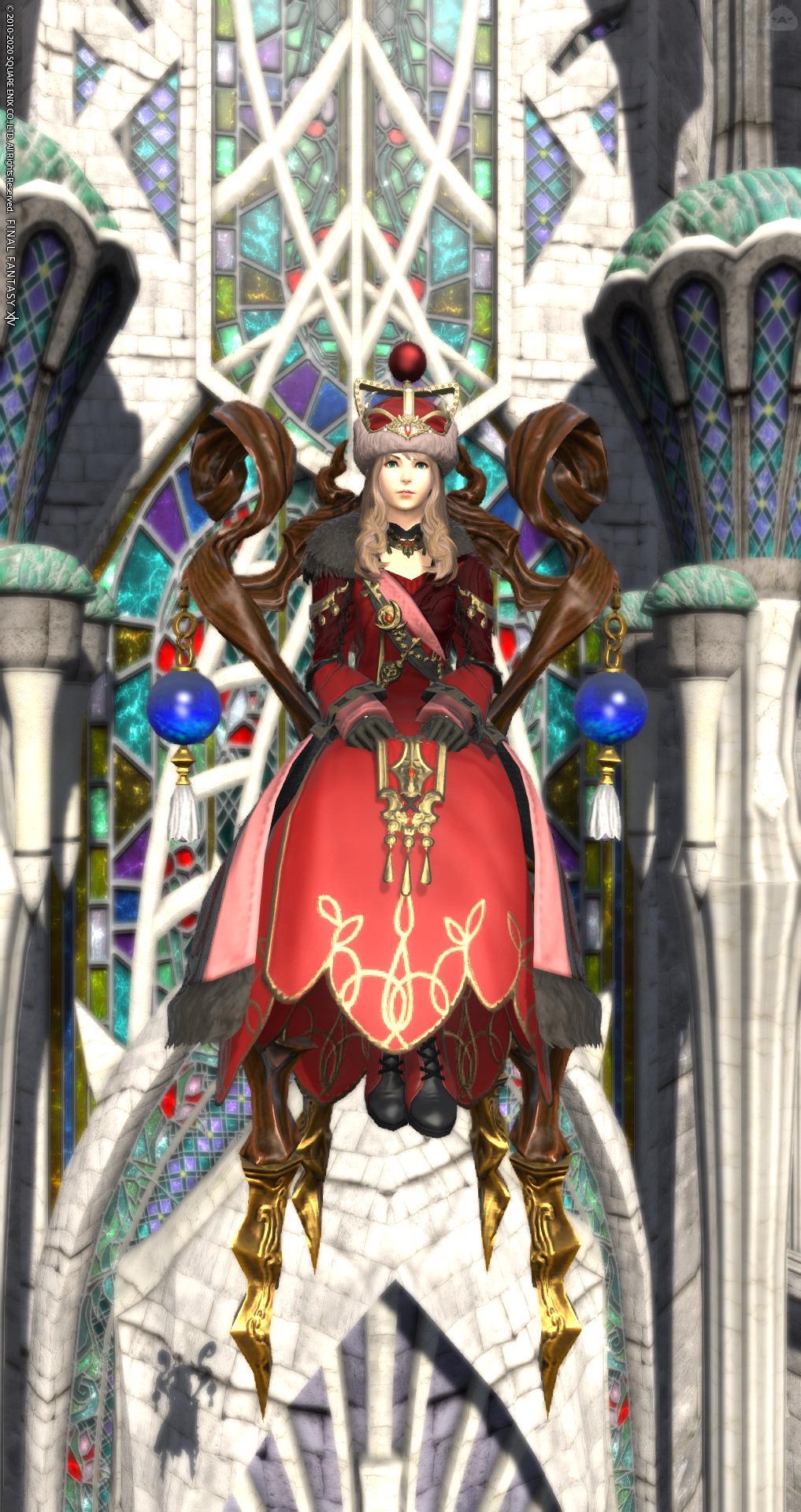 赤クポの女王