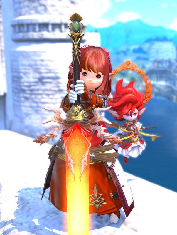 スカラの赤い騎士