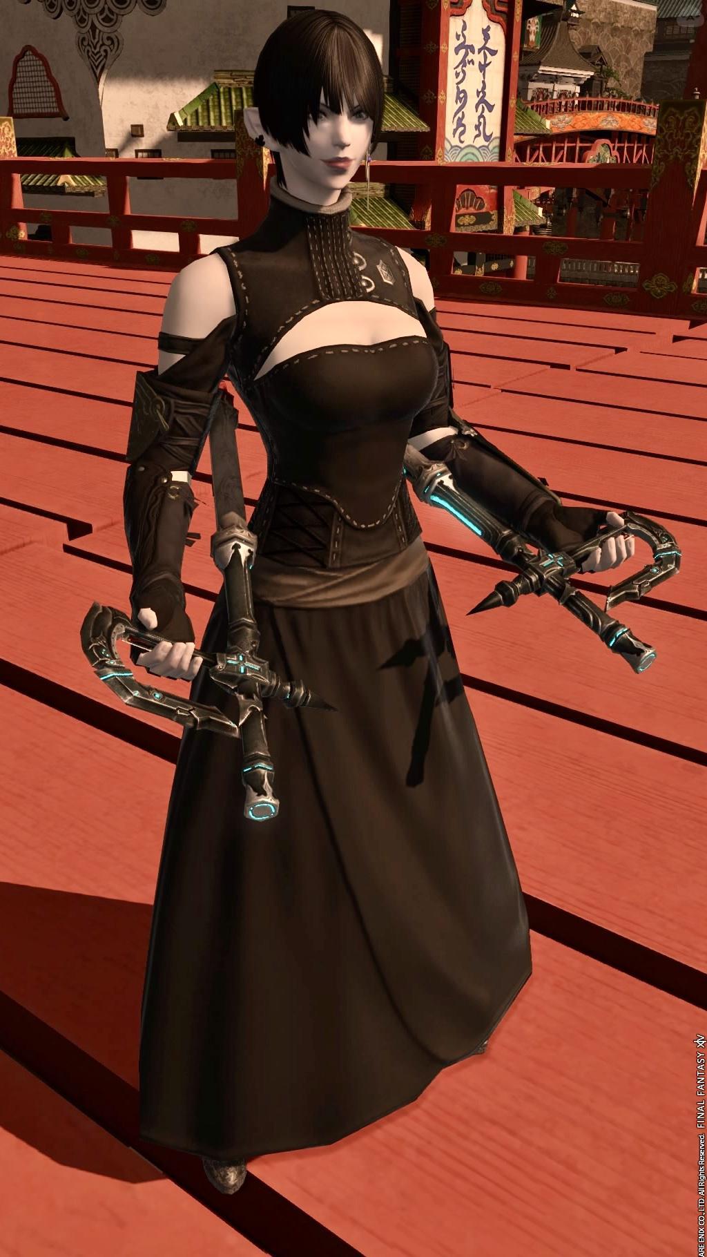 黒服のモンク