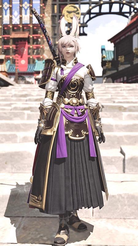 和装暗黒騎士