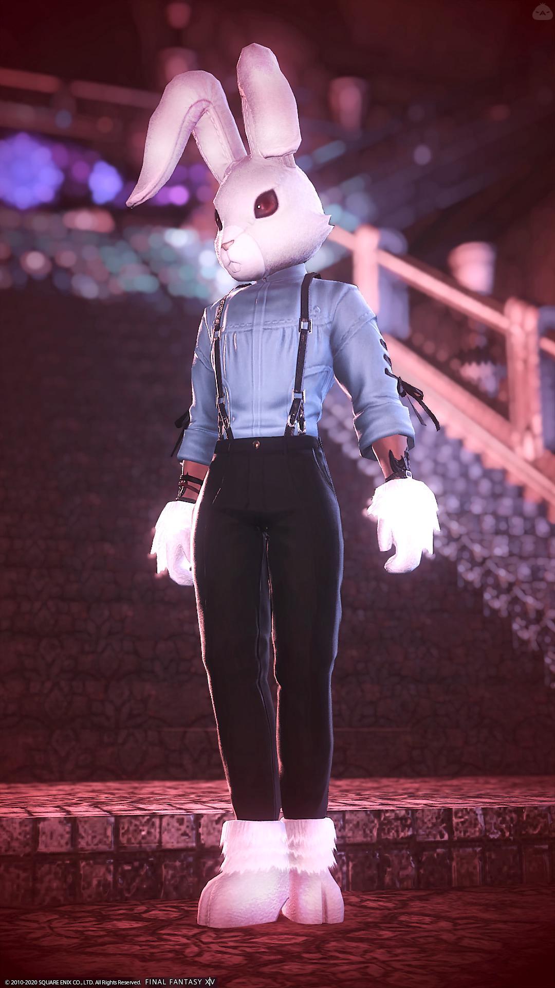 歪みの国のシロウサギ