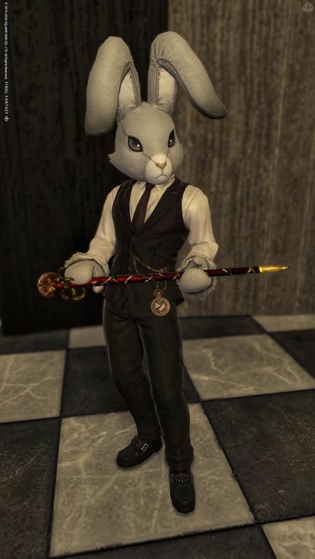 ウサギ紳士
