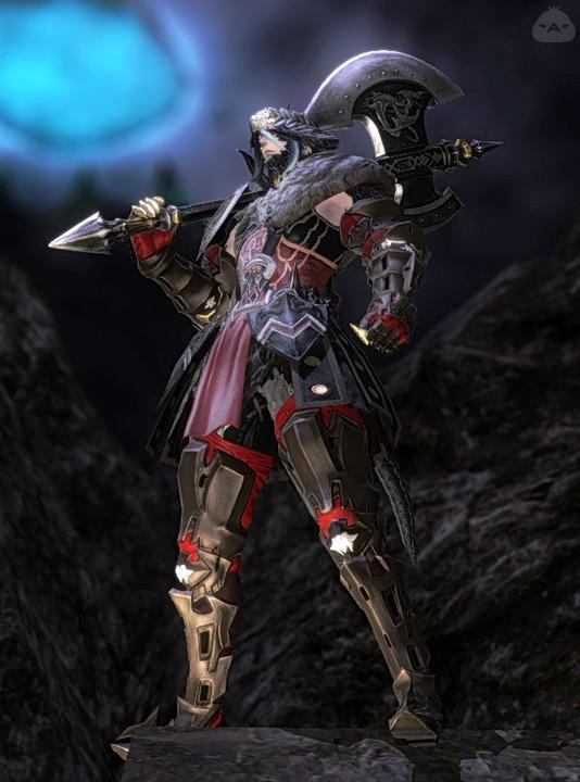 アウラ・ゼラの戦士