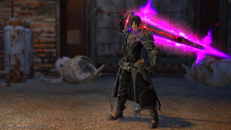 漆黒PV風暗黒騎士