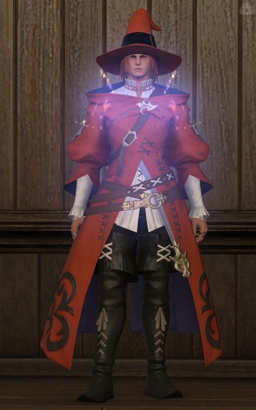 赤い白魔導士