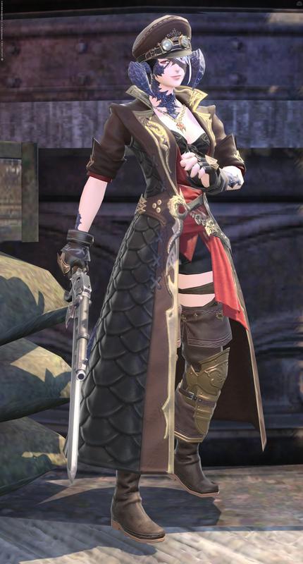 スチパン風女海賊