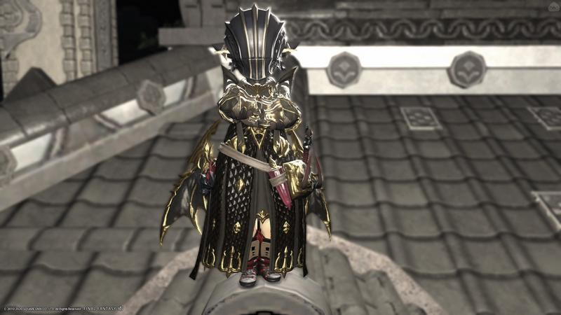 闇の戦士っぽい赤魔道士