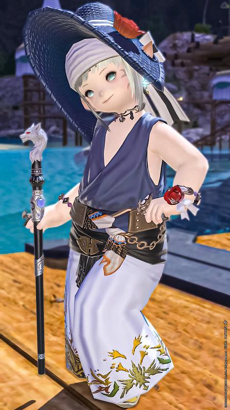 夏の装い-青魔道士-
