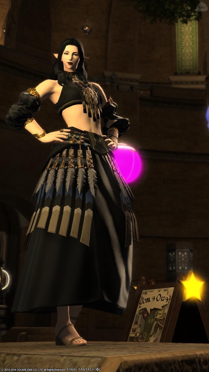 黒の踊り子