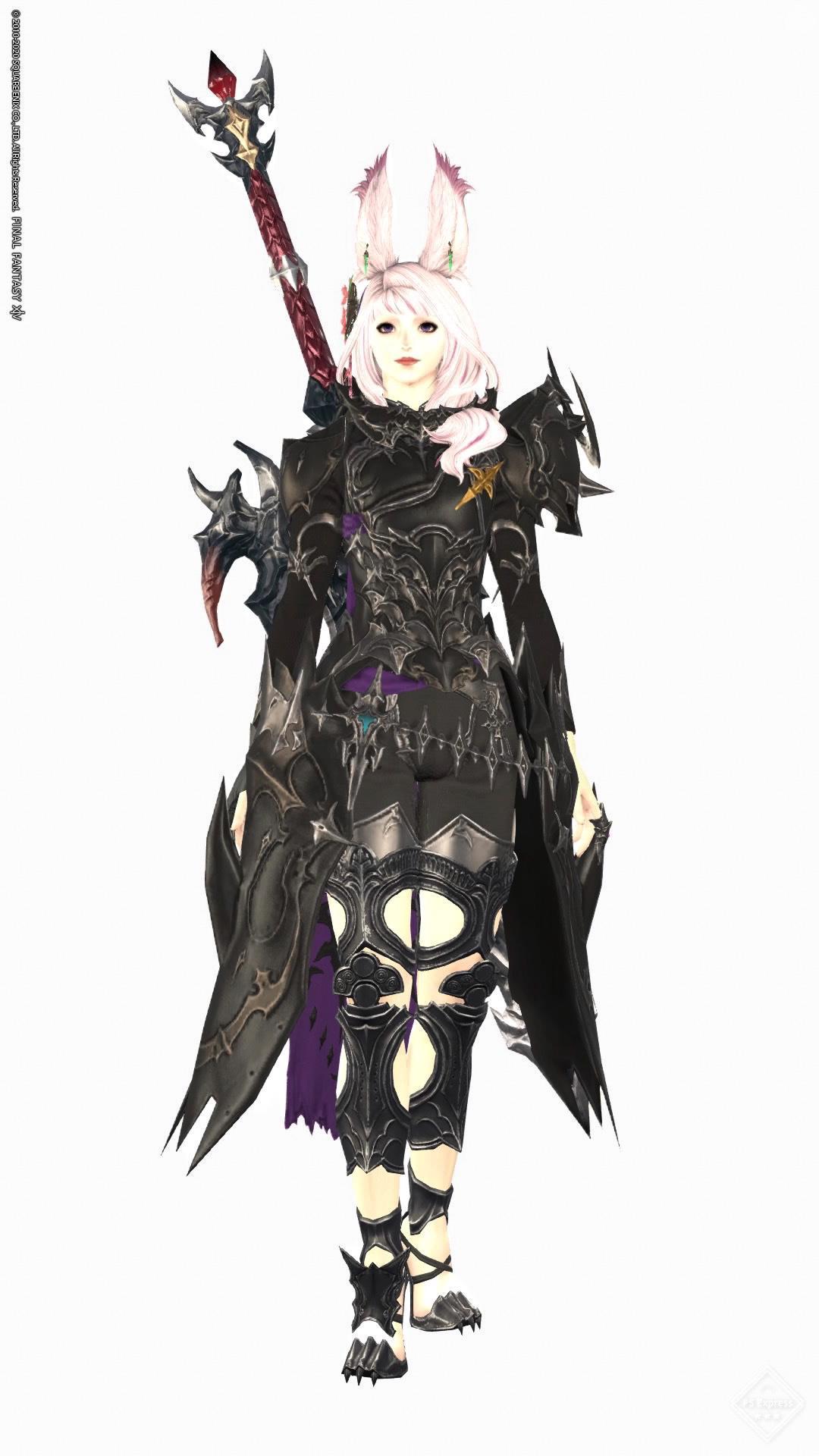 ヴィエラ×暗黒騎士AF3