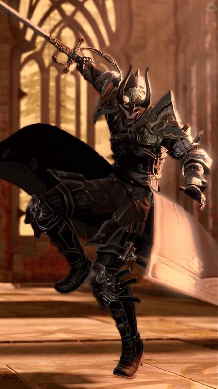 東洋の剣術を使う騎士