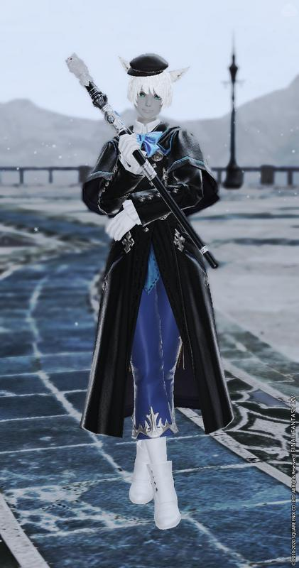 神学院の青魔道士