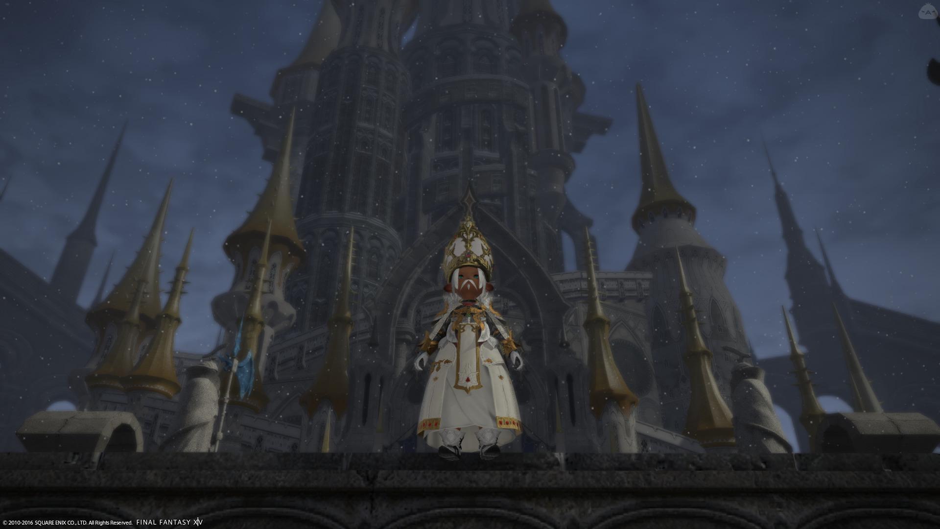 新イシュガルド教皇