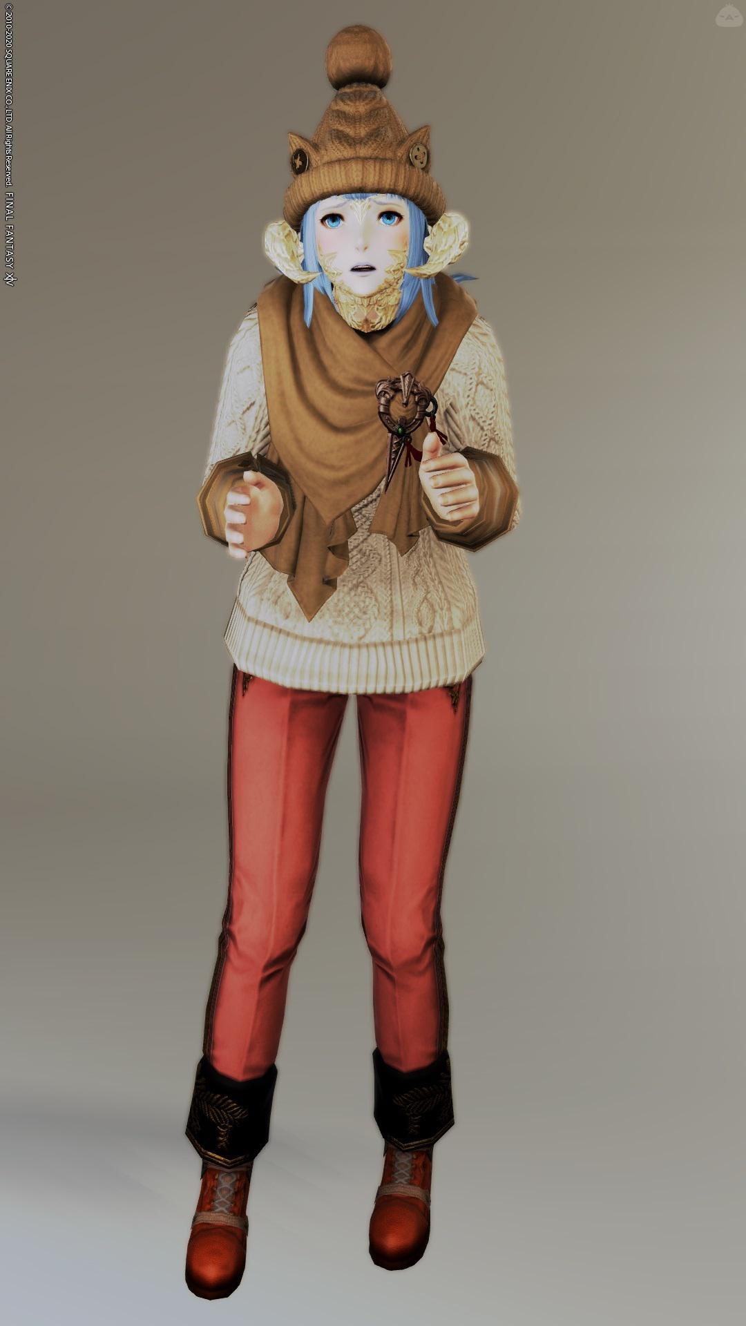 クポクポ × セーター