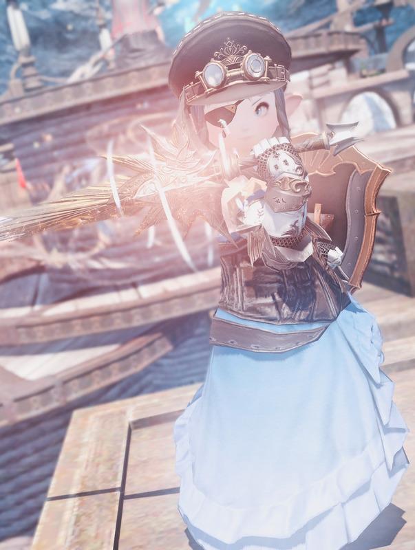 青色の姫騎士