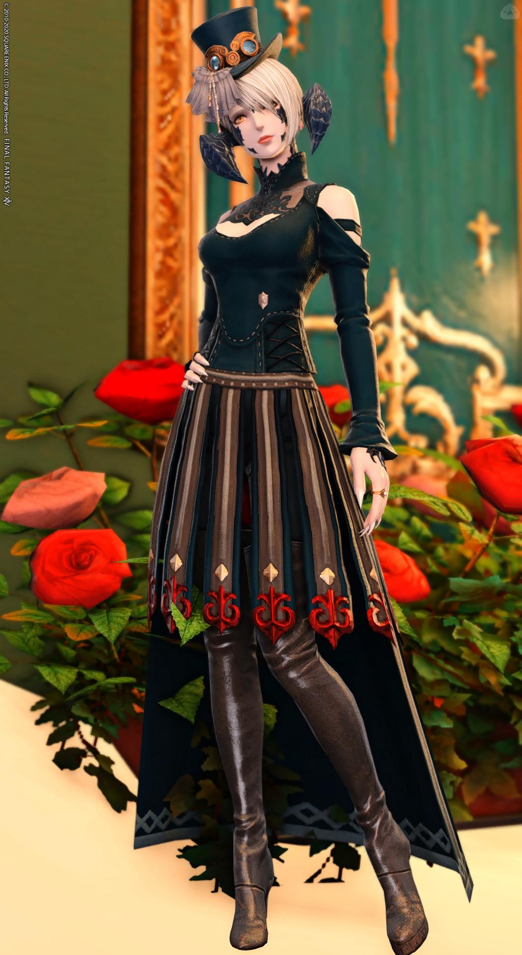 ロングドレス(忍者)