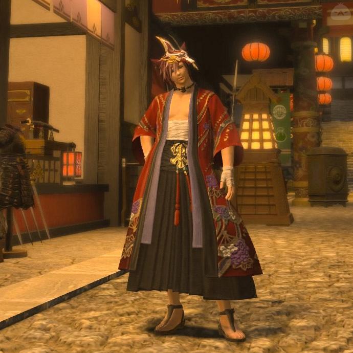 和風な服装