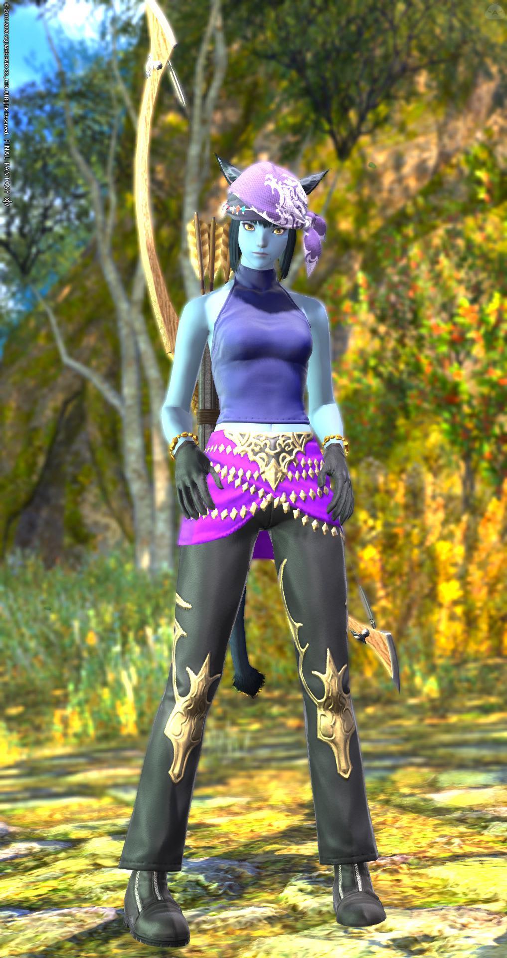 青紫の狩人