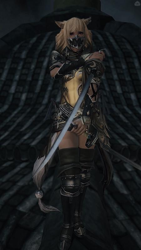 いかにも闇っぽい忍者