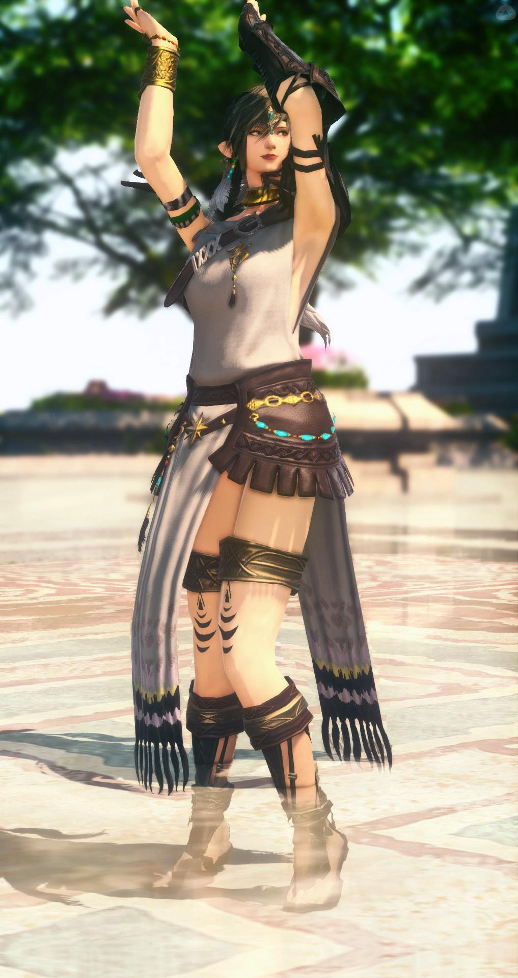 古代人の踊り子