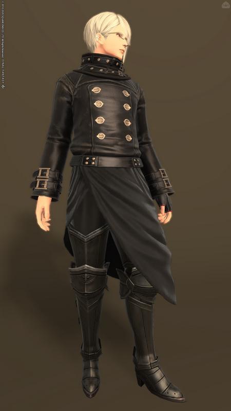 ブラックコーデ竜騎士