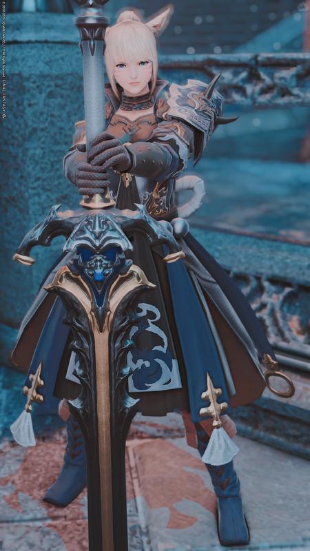 濃藍の騎士
