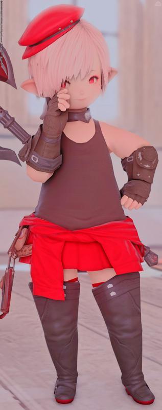 赤×黒 軽装戦士