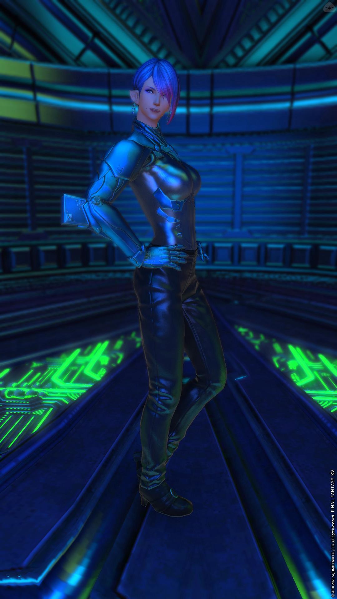 Like a Cyberpunk