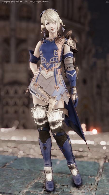 かっこかわいい蒼の竜騎士