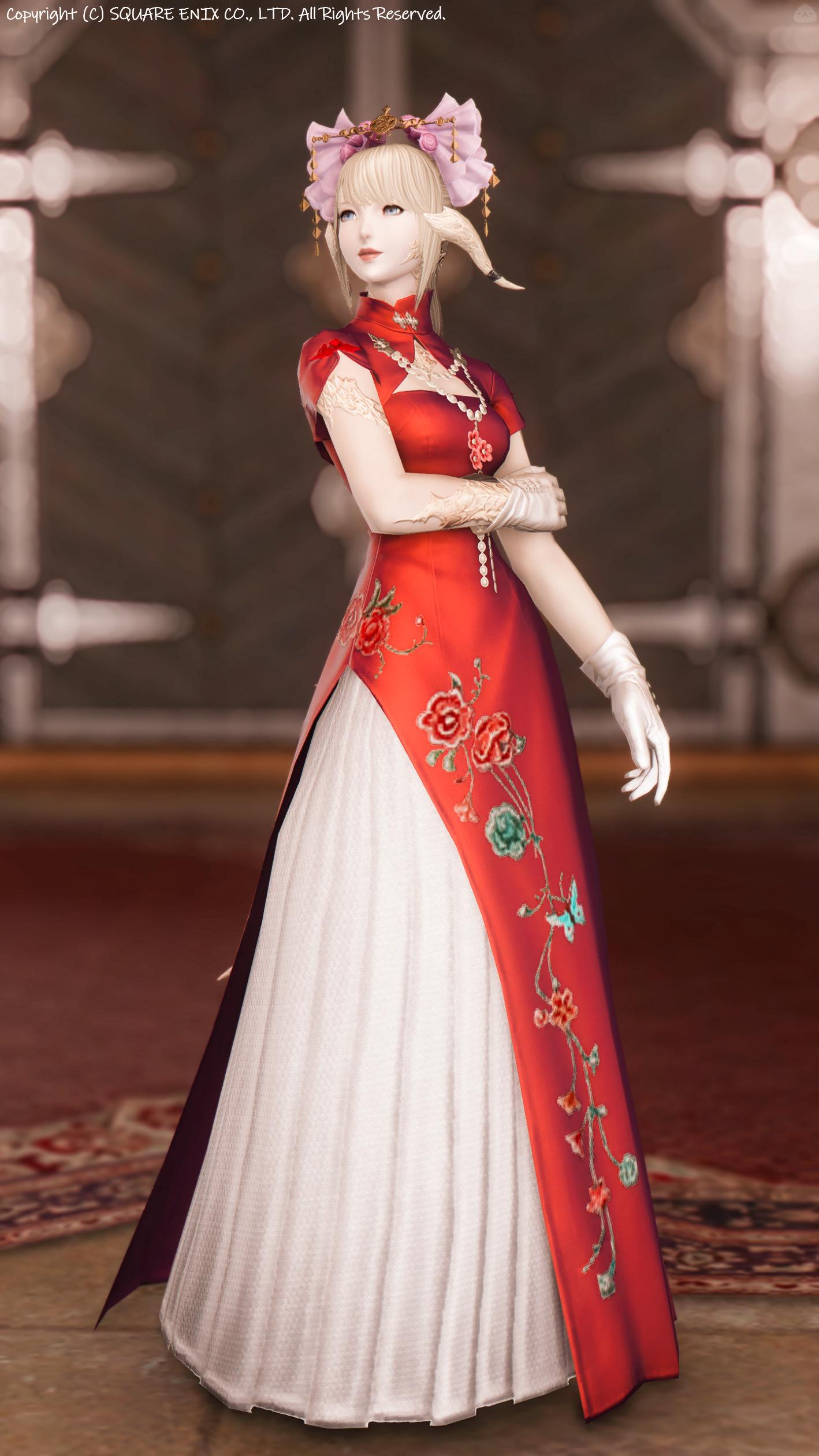 東方の花嫁衣裳