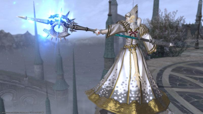 白銀竜騎士