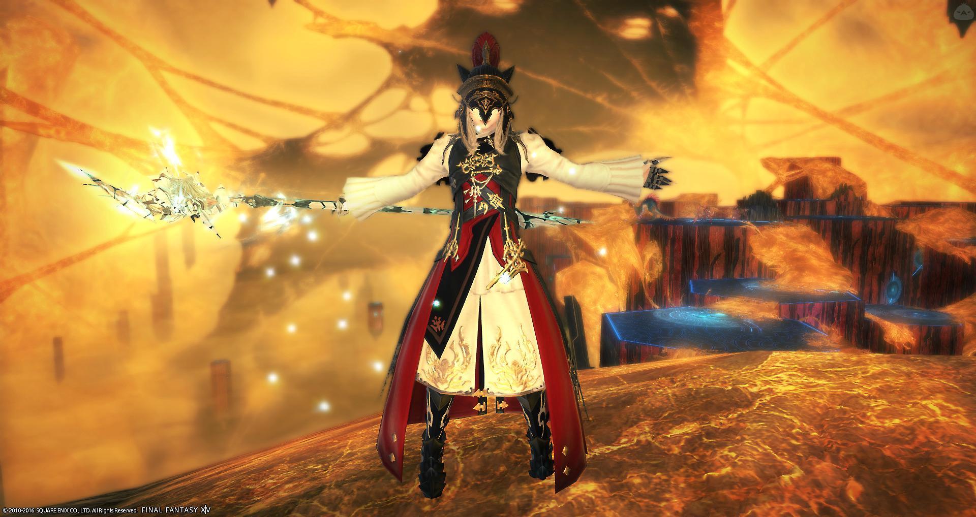 アラグの武装魔術師