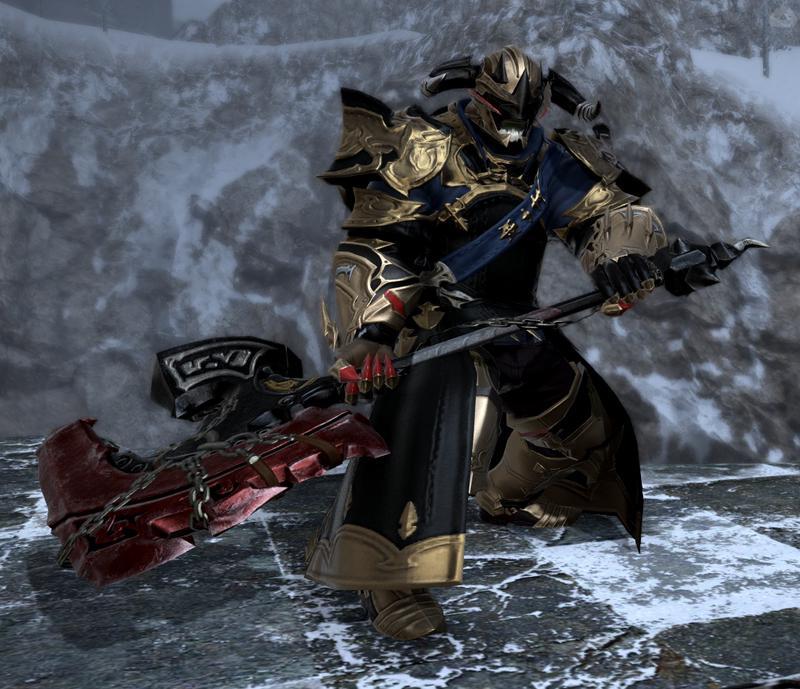 執行人っぽい戦士
