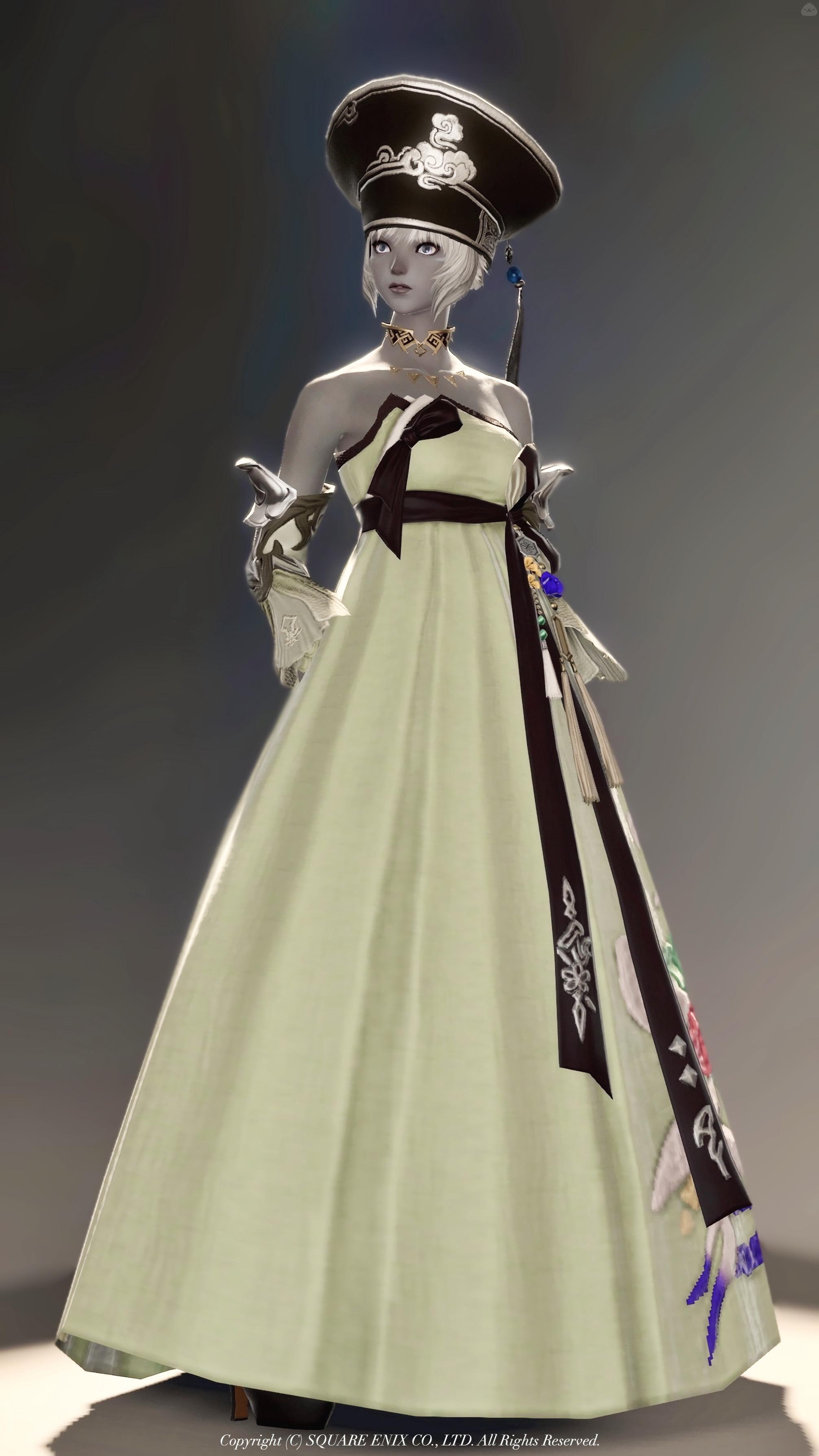 オリエンタルドレス