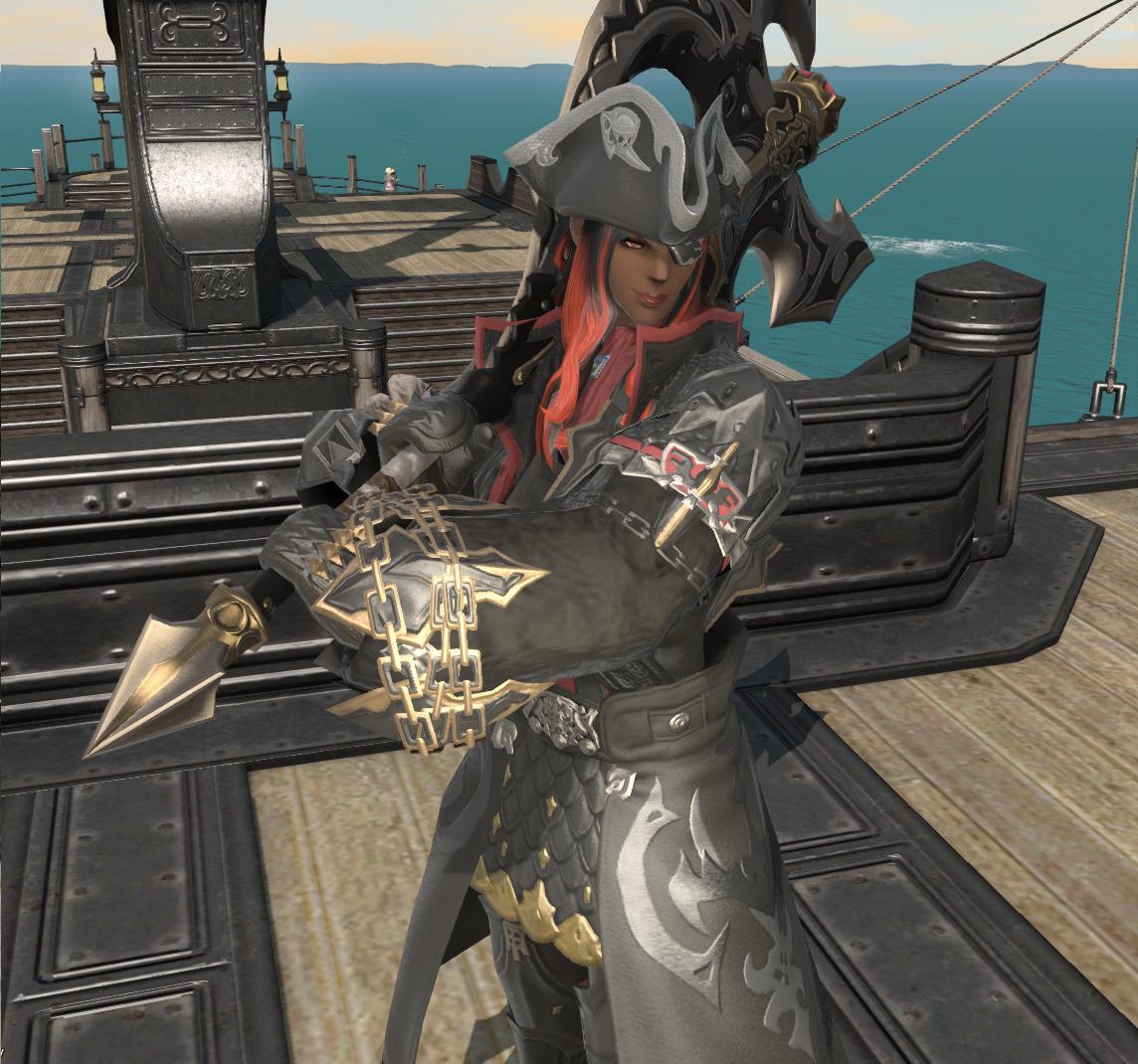 海賊あがりの黒渦戦士