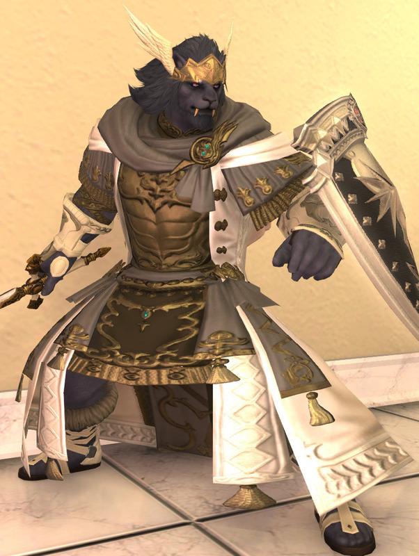 天上の神殿騎士