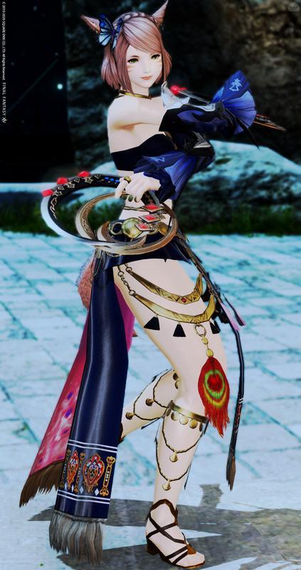 蒼い蝶の踊り子