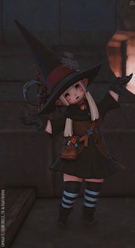 ☩イタズラ魔女っこ