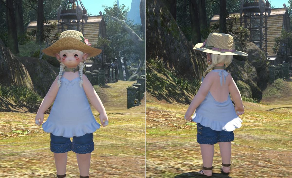 【ララ♀用】夏の子供服