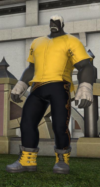 黄色い闘士