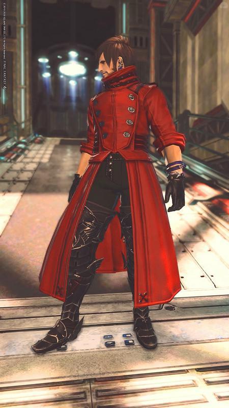 赤コートのおじさんはお好きですか?