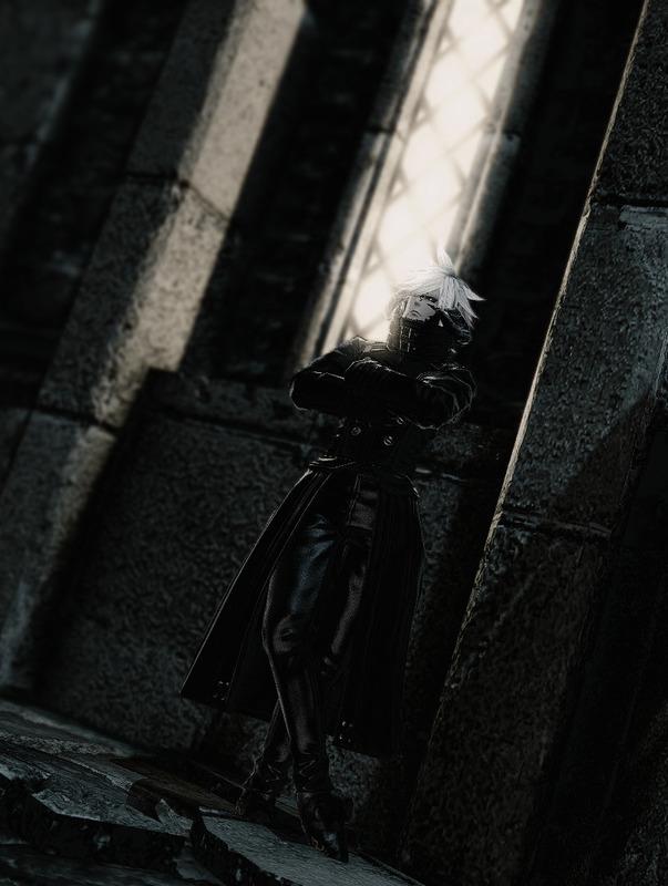暗黒騎士の軽装