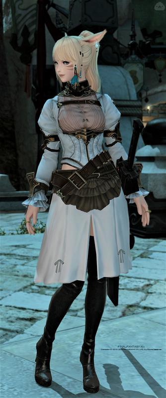 ミンフィリアのスカートを使いたい侍