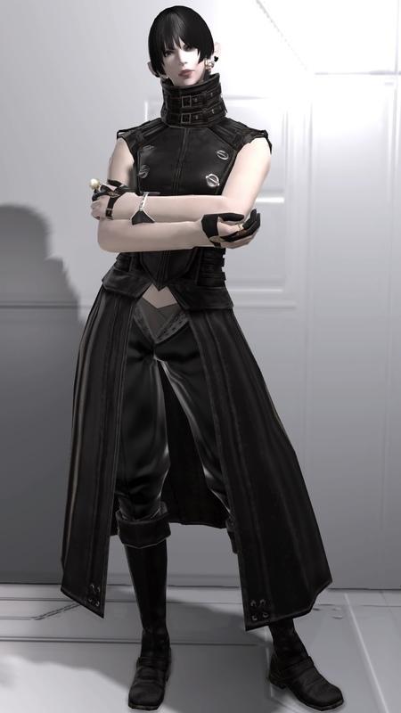 黒服のモンク:ヨルハ編その2
