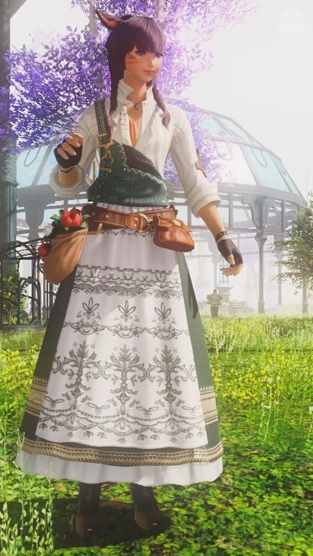 園芸×ディアンドル