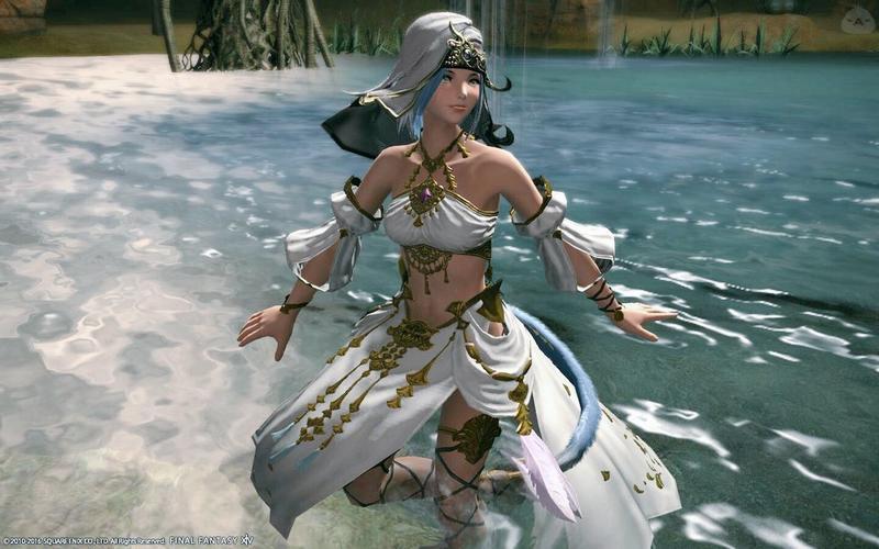 水辺の踊り子