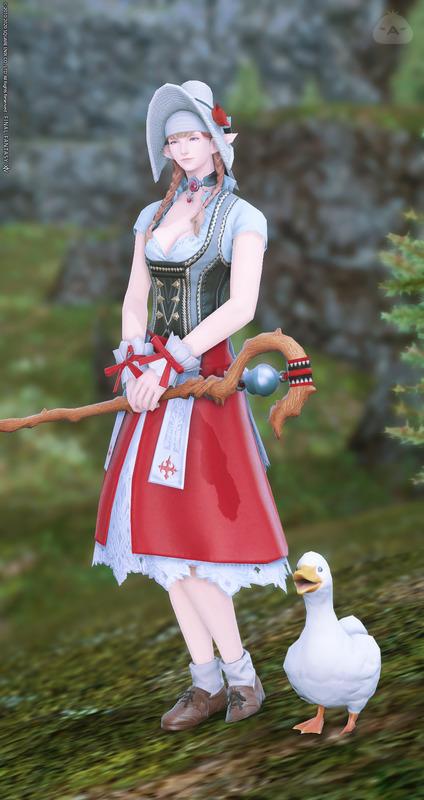 European Shepherd Girl