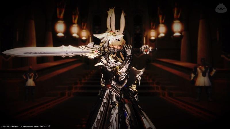 銀甲冑の聖騎士