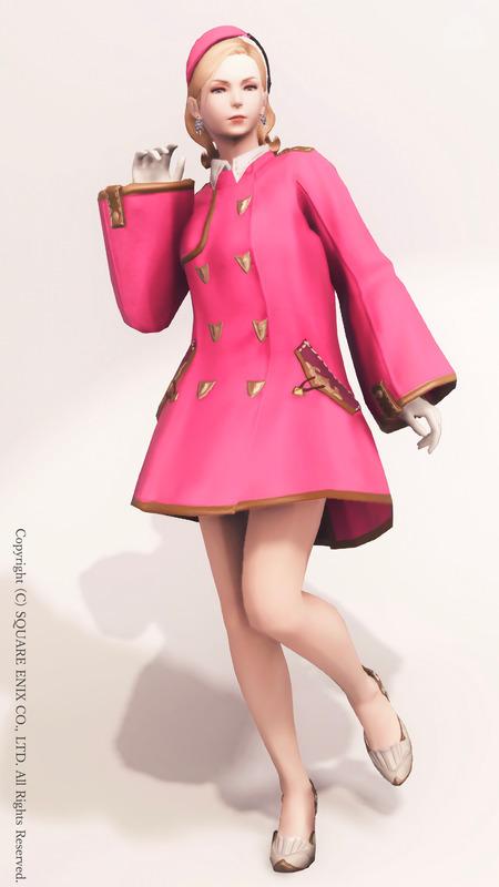 1950年代風レディ PINK